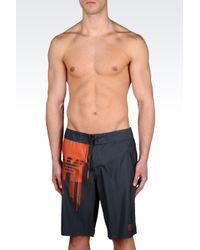 EA7 | Gray Sea World Line Swimsuit for Men | Lyst