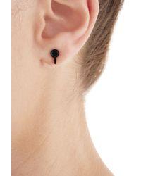 Marc By Marc Jacobs - Lock In Earrings - Black - Lyst