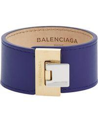 Balenciaga - Blue Le Dix Bracelet-Colorless - Lyst