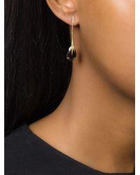 Wouters & Hendrix | Metallic Crow's Claw Garnet Earrings | Lyst