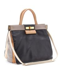 Marc By Marc Jacobs Black Madame Hilli Leather Tote
