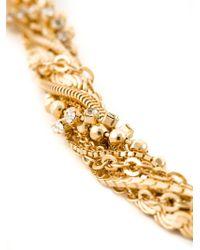 Puro Iosselliani - Metallic Tangled Necklace - Lyst