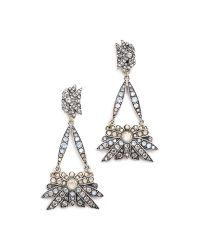 Lulu Frost | Metallic Larkspur Drop Earrings - Bronze Ombre | Lyst