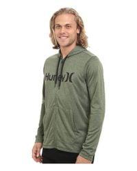 Hurley - Green Dri-fit Lake Street Zip for Men - Lyst