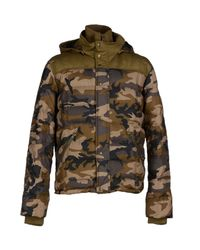 Spiewak - Green Down Jacket for Men - Lyst