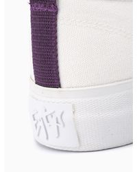 Eytys White Mother Canvas Sneakers for men