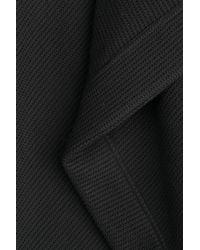 Roland Mouret - Wool Cape Coat - Black - Lyst