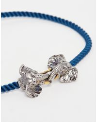 Bill Skinner - Metallic Elephant Friendship Bracelet - Lyst