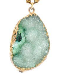Katerina Psoma | Metallic Beaded Pendant Necklace | Lyst