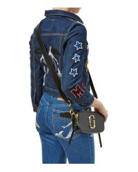 Marc Jacobs Blue Small Snapshot Camera Cross Body Bag