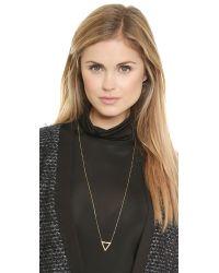 Maria Black Metallic Vixen Necklace - Gold