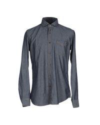 Baldessarini - Blue Shirt for Men - Lyst