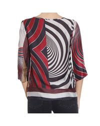 Manila Grace - Red Shirt - Lyst