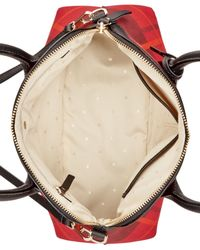 Kate Spade | Red Cameron Street Fabric Maise Satchel | Lyst