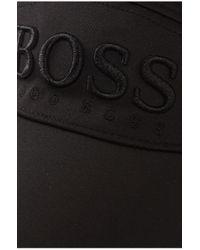 BOSS Green - Black Baseball Cap 'cap Mk' for Men - Lyst