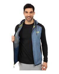 Under Armour - Blue Ua Coldgear® Infrared Survival Fleece Vest for Men - Lyst
