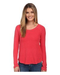 Lucky Brand - Red Jacquard Thermal - Lyst