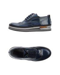 Cesare Paciotti | Blue Lace-up Shoes for Men | Lyst