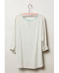 Dolan | Gray Filigree Lace Top | Lyst