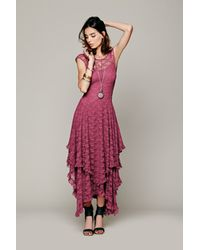 Free People Pink French Courtship Slip