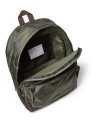 White Mountaineering - Green Two-tone Shell Backpack for Men - Lyst
