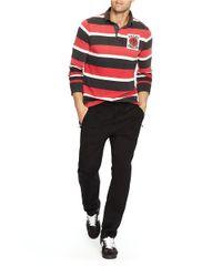 Polo Ralph Lauren | Black Interlock Track Pants for Men | Lyst