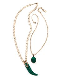 Samantha Wills | Green Enchanted Twilight Necklace - Malachite | Lyst