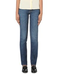 Closed Blue United Classic-fit Mid-rise Jeans