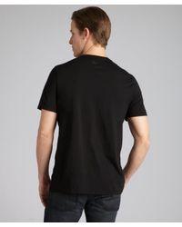 Three Dots - Black Supima Cotton Jersey Crewneck Short Sleeve T-shirt for Men - Lyst