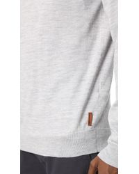 Ben Sherman | Metallic Crew Sweater for Men | Lyst