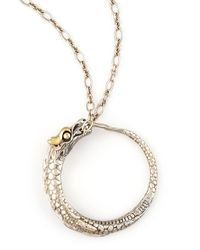John Hardy | Metallic Naga Dragon Pendant Necklace | Lyst