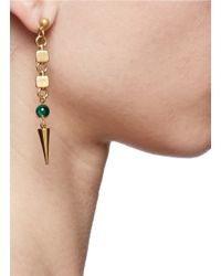 Ela Stone | Green Anouk Spike Drop Earrings | Lyst