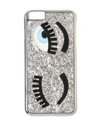 Chiara Ferragni | Metallic 'flirting' Iphone 6 Plus Case | Lyst