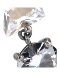 Bottega Veneta | Metallic Crystal Earrings | Lyst