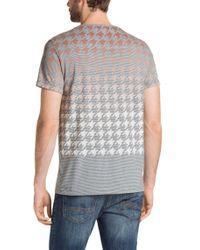 BOSS Orange Gray 'trucker' | Cotton Slub Henley Shirt for men