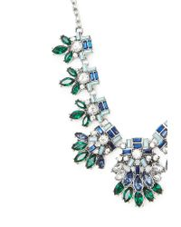 Forever 21 | Green Flower Statement Necklace | Lyst