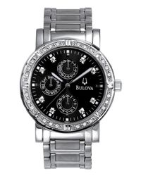 Bulova | Metallic Men's Stainless Steel Bracelet Watch 39mm 96e04 for Men | Lyst