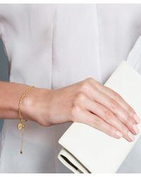 Astley Clarke - Metallic Gold-plated Cosmos Kula Bracelet - Lyst