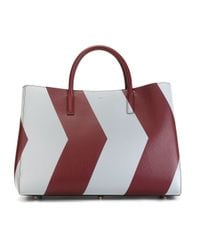 Anya Hindmarch - Red 'ebury Maxi Featherweight' Tote - Lyst