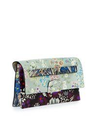 Valentino - Multicolor Mime Floral-print Leather Belt Bag - Lyst