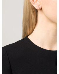 Wwake | Yellow 'offset' Opal Arc Earrings | Lyst