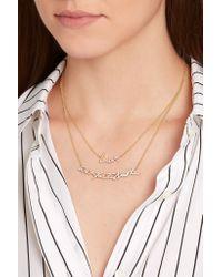 Stephen Webster - Metallic + Tracey Emin Love 18-karat Gold Diamond Necklace - Lyst