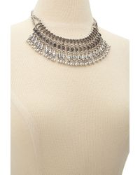 Forever 21 | Metallic -inspired Collar Necklace | Lyst