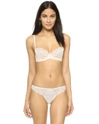 Myla - White Heritage Lace Thong - Lyst