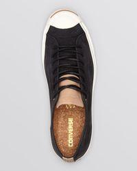 Converse Black Jack Purcell Jack Split Tongue Sneakers for men
