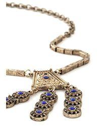 Ana Accessories Inc - Rhapsody In Bluegrass Necklace - Lyst