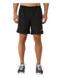 "Adidas | Black Response 7"" Shorts for Men | Lyst"
