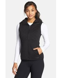 The North Face | Black 'caroluna' Reversible Hooded Vest | Lyst