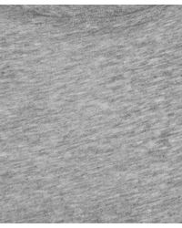Acne Studios | Gray Grey Standard Crew Neck Cotton T-shirt for Men | Lyst