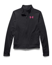 Under Armour | Black Rival Jacket | Lyst